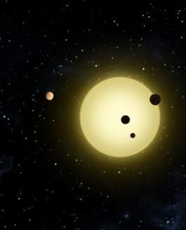 "Kepler Finds ""Extraordinary"" Extrasolar System"
