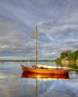 The Golden Galway Boat