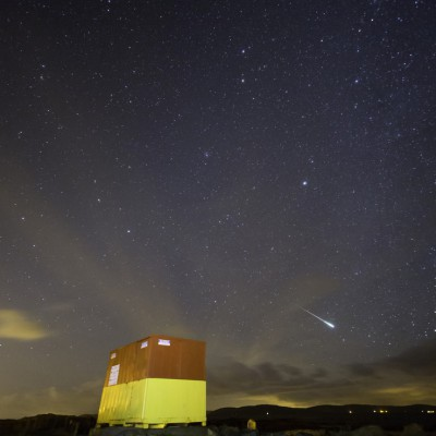 Leonids over Spiddal
