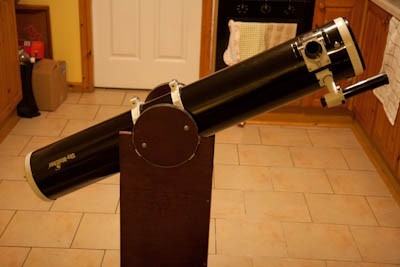Home made dobsonian mount