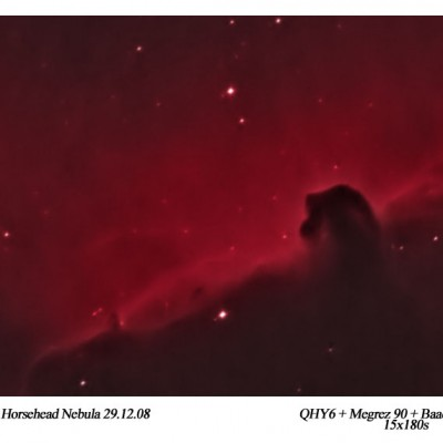 IC434 - The Horsehead Nebula