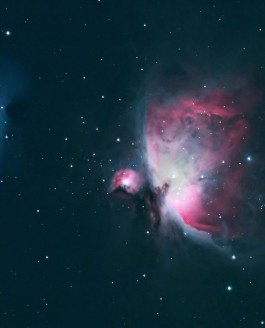 M42 and NGC 19777 – Orion and the Running Man